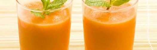 batido bronceador zanahoria