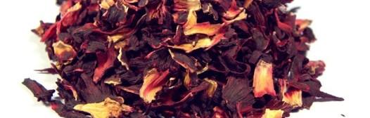 flor de jamaica seca infusion
