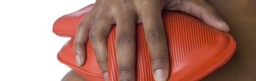 aplicar bolsa de calor dolor muscular