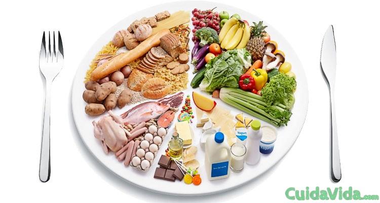 Dieta disociada menu semanal la para