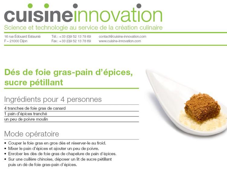 La cuisine mol culaire cuisines et astuces d 39 un vrai - Cuisine moleculaire pdf ...