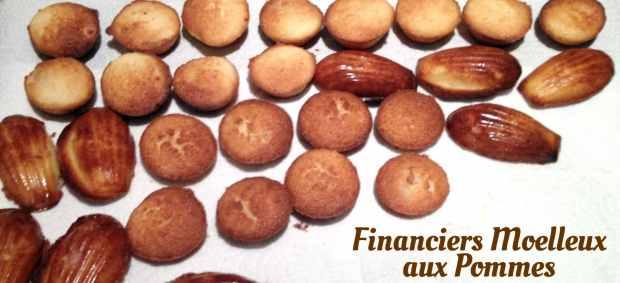 financiers pomme 2 620x283 - Financiers moelleux aux pommes