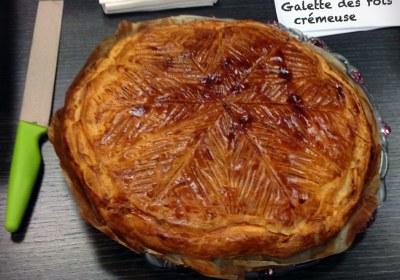 Recette de Galette des rois crémeuse (frangipane / crème pâtissière)