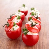 mini tomates farcies chevre aperitif 3 - Mini tomates farcies au chèvre