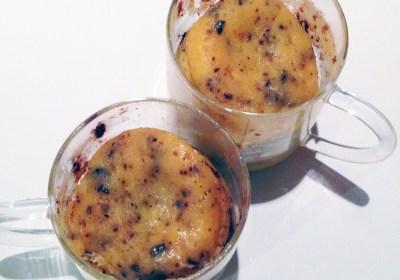 Recette de Mug Cake aux 2 Chocolats