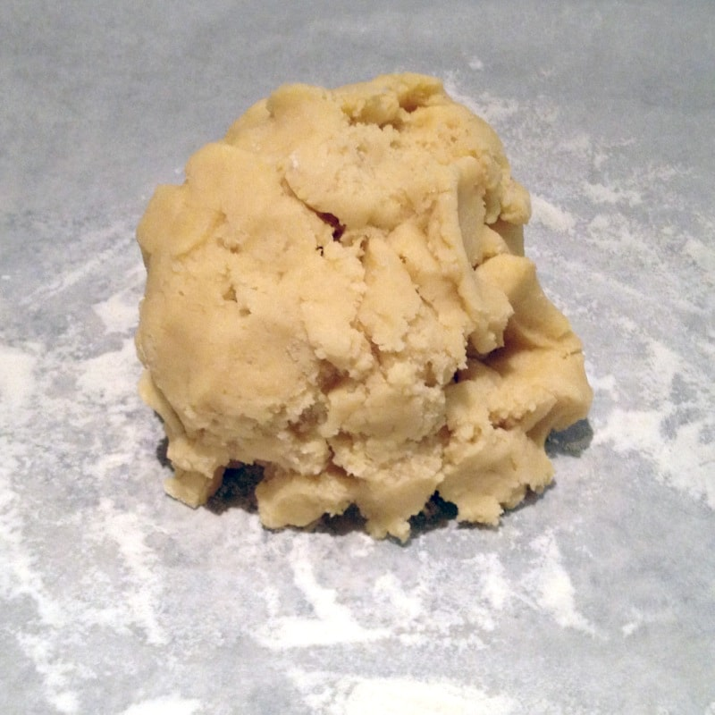 pate sablee prepa 1 - Pâte sablée aux amandes