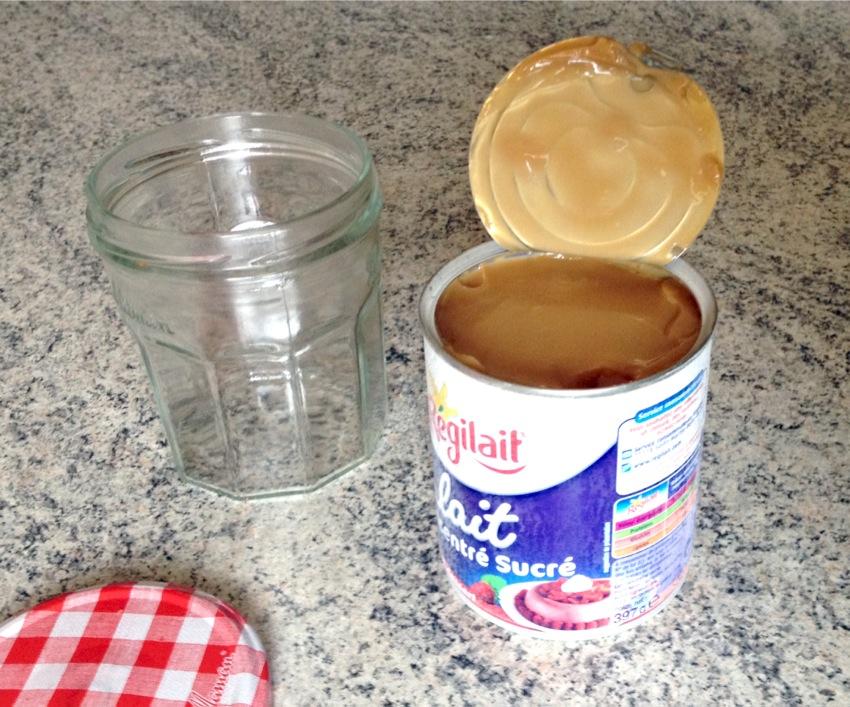 confiture de lait prepa 3 - Confiture de lait