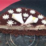 fondant chocolat poire 1 - Gâteau fondant chocolat et mousse de poires