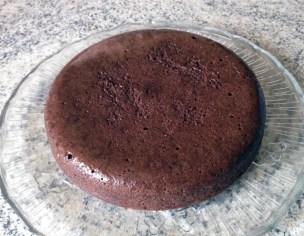 Recette de Gâteau fondant chocolat et mousse de poires
