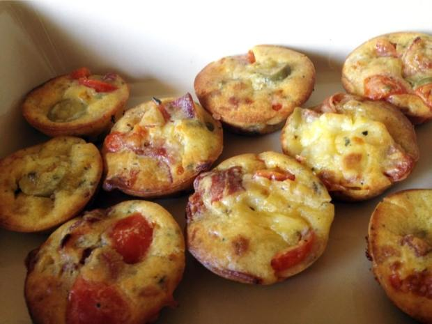 muffins pizza 2 - Dossier : Pizza party !