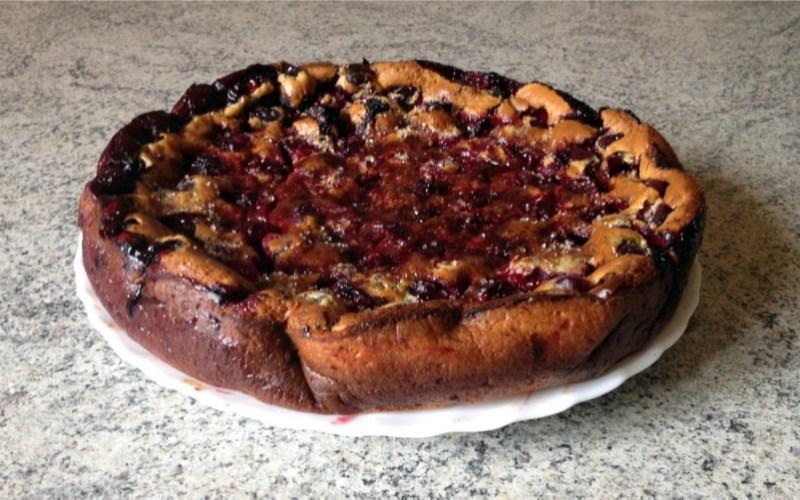 far prunes 3 - Zebra cake vanille-chocolat (Gâteau zébré / tigré)