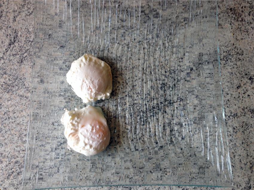 Recette d'Oeufs pochés à la Dijonnaise
