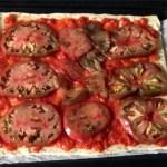 pizza jambon chorizo champignons fromage tomate prepa 2 - Pizza jambon, chorizo, champignons, fromage, tomate