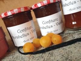 confiture mirabelles vanille 1 - Confiture de mirabelles à la vanille