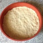 crousti fondant peches framboises prepa 1 - Gâteau crousti-fondant aux pêches et aux framboises