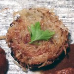 Recette de Pommes de terre paillasson au four