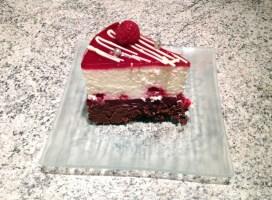 Recette de Gâteau aux framboises et 2 chocolats