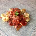 gnocchis parmesan 3 - Gnocchis au Parmesan + sauce tomate basilic