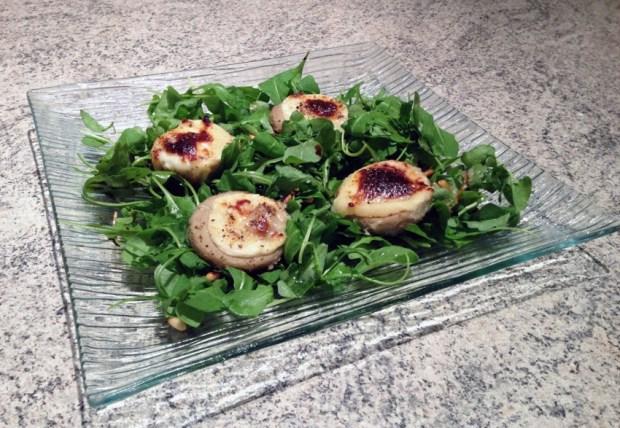 salade roquette artichaut chevre pignons 1 - Dossier : Recettes pour la Saint-Valentin