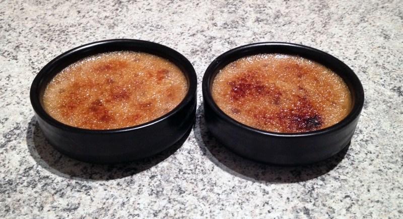 creme brulee speculoos 1 - Zebra cake vanille-chocolat (Gâteau zébré / tigré)