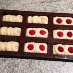 financiers framboises chocolat blanc prepa 3 - Financiers aux framboises et chocolat blanc