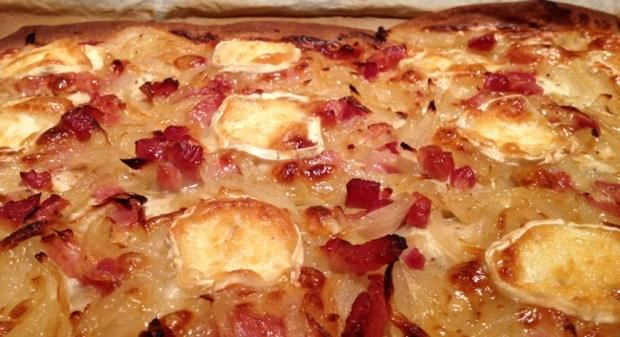 flammekueche chevre 3 - Dossier : Pizza party !