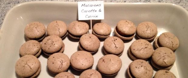 macarons carotte cumin 2 - On a testé : Le kit pour macarons Lékué