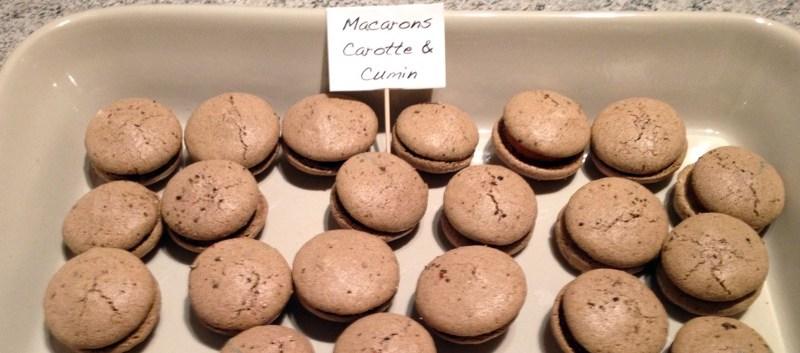 macarons carotte cumin 2 - Zebra cake vanille-chocolat (Gâteau zébré / tigré)