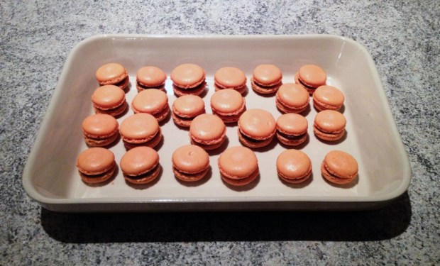 macarons chocolat clementine 2 - On a testé : Le kit pour macarons Lékué