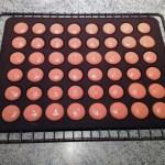 macarons chocolat clementine prepa 2 - Macarons chocolat et clémentine