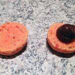 macarons chocolat clementine prepa 6 - Macarons chocolat et clémentine