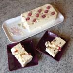 nougat glace amandes fruits confits 3 - Nougat glacé aux amandes et fruits confits
