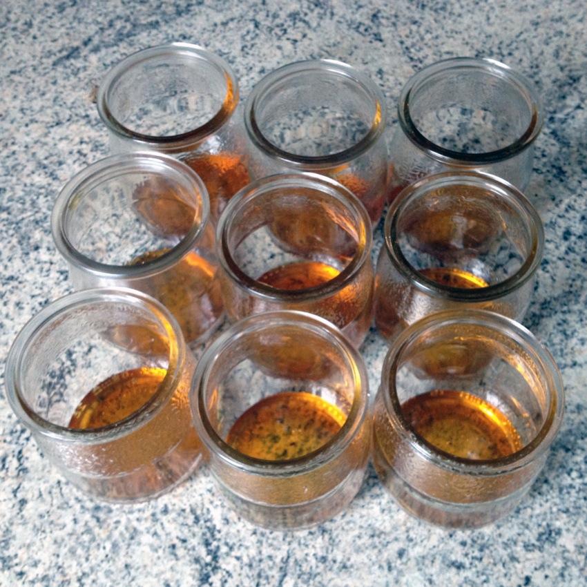 Recette de Yaourts miel et menthe
