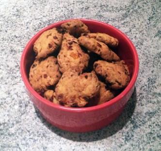 Recette de Cookies apéritifs au chorizo, poivron, parmesan