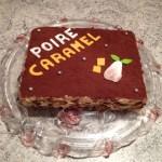 gateau poire caramel 1 - Gâteau Poire-Caramel