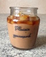 panna cotta daims poire caramel 3 - Panna cotta aux Daims, poires et caramel au beurre salé