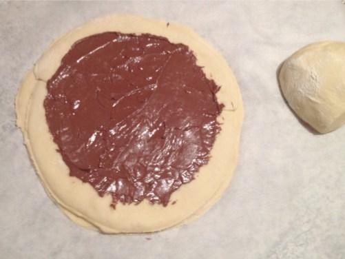 Recette de Brioche étoilée au Nutella