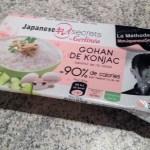 gohan konjac gerlinea - Pavés de saumon aux épices et gohan de konjac