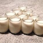 yaourts amandes 2 - Yaourts aux amandes