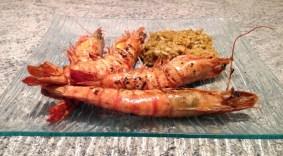 Recette de Risotto aux gambas, curry et crème de coco