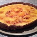 """tarte clementines 1 - Tarte """"brûlée"""" aux clémentines"""
