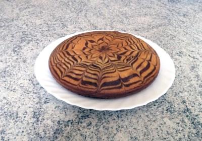 Recette de Zebra cake vanille-chocolat (Gâteau zébré / tigré)
