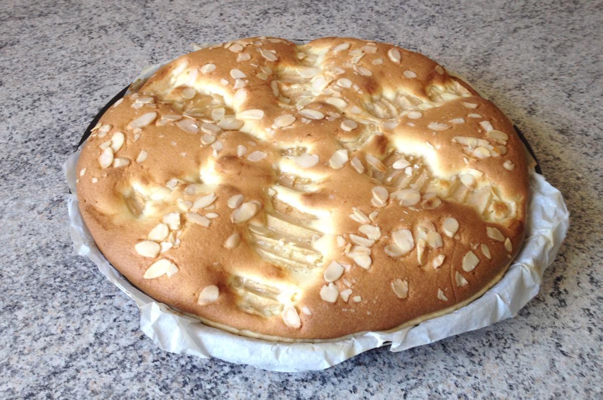 tarte poires chocolat frangipane 2 - Tarte aux poires, chocolat et frangipane
