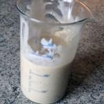 glace legere yaourt banane prepa 3 - Glace légère au yaourt et à la banane