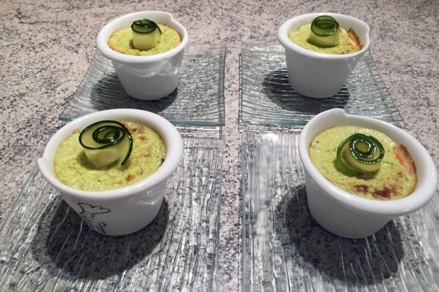 mousse courgettes saumon 1 - Dossier : Recettes pour la Saint-Valentin