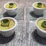mousse courgettes saumon 1 - Mousses de courgettes au saumon fumé
