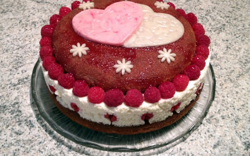 gateau victoria 1 - Zebra cake vanille-chocolat (Gâteau zébré / tigré)