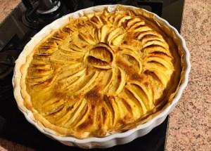 tarte pommes alsacienne 1 - Tarte aux pommes à l'Alsacienne