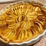 tarte pommes alsacienne 3 - Tarte aux pommes à l'Alsacienne