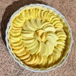 tarte pommes alsacienne prepa 2 - Tarte aux pommes à l'Alsacienne